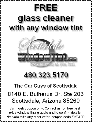 Coupons - Free Glass Cleaner